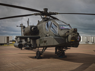Garden Poster Helicopter Apache helicopter