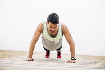 Kopfhörer,trainieren,hören,üben,fit,Sportler,Energie