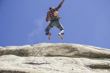 Serie,Mut,Kletterwand,Schutz,Kletterer,Risiko,bedrohlich