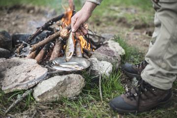 Hand,Hobby,Bulgarien,kochen,Wanderschuh,zubereiten,Ruhe