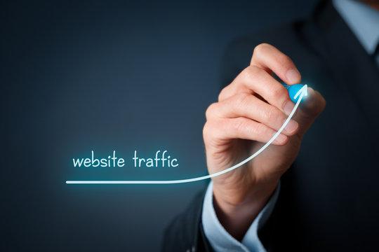 Website traffic improvement