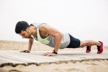 hören,Übung,Workout,Textfreiraum,trainieren,Aktivität,fit