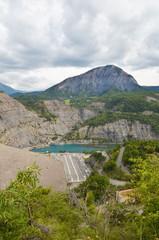 Barrage de Serre-Ponçon (Hautes-Alpes)