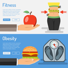 Healthy Lifestyle and Obesity Concept