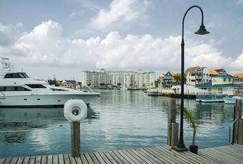 Marina and Water Front at Free Port, Grand Bahama