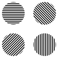 striped circle
