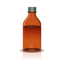 Medical brown Bottle
