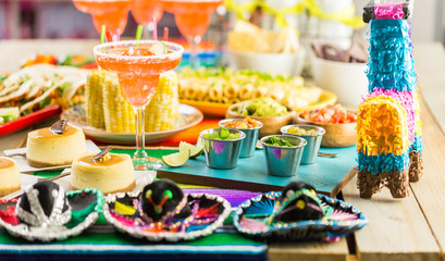 Acrylic Prints Buffet, Bar Fiesta buffet table