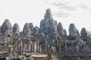 Ankor Thom in Cambodia.