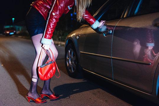 Roadside prostitution