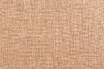 Burlap or hessian textile background texture