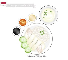 Hainanese Chicken Rice, A Popular Dish in Singapore