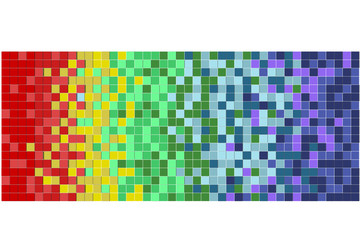 abstract colorful Pixels background
