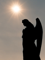 Silhouette of an Angel