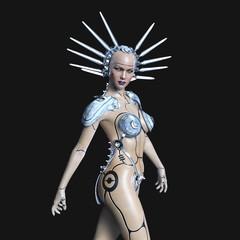 女性ロボット