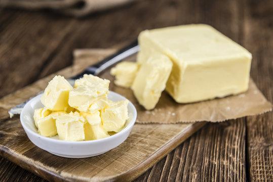 Butter (selective focus)