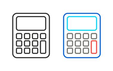 Calculator - vector icon.