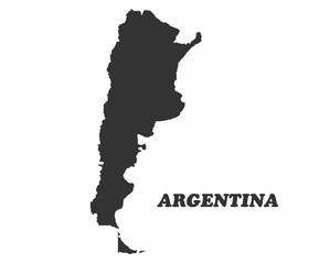 Concept map of Argentina