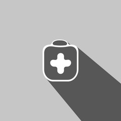 Medicine chest web icon