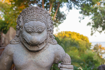 Cambodian god idol statue Fototapete