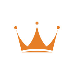 crown logo icon Vector