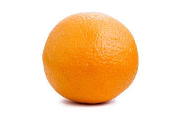 isolated orange on a white background
