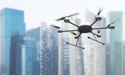 Quadrocopter in Singapore