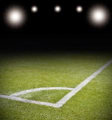 lights in the stadium