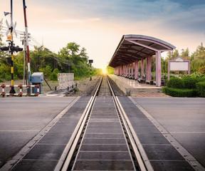railway station in Thailand