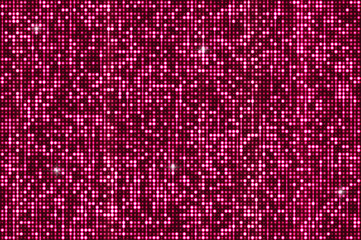 Pink shimmer sequins background