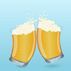 cartoon beer glass cup