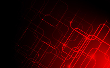 Red color background abstract art vector