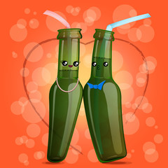 Kawaii bottle straw