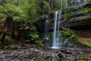 Waterfall in the Tasmanian Wilderness