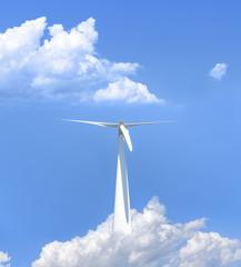 Power generation wind turbines.