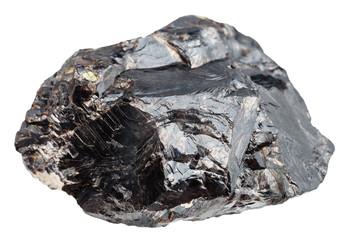 stone of sphalerite (zinc blende) isolated