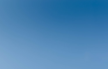 Blue sky in the clear sky day image background