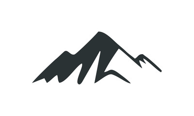 peak of mountain