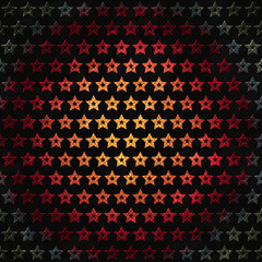 vintage star background with grunge effect