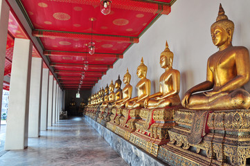 When a Buddha then calm the mind.
