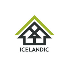 Logo with Icelandic Rural House