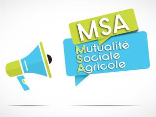 mégaphone : MSA