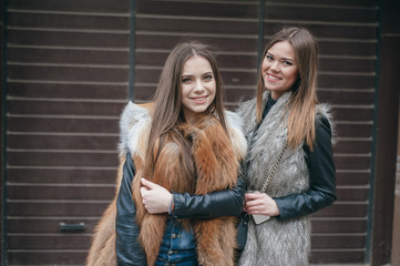 beautiful girls on the street