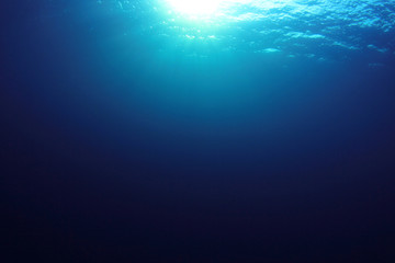 Sea ocean underwater background photo
