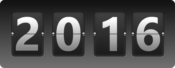 Retro Flip Clock 2016