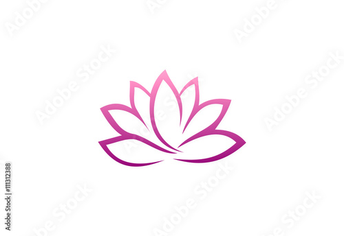 quotabstract lotus flower logoquot stock image and royaltyfree
