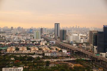 Bangkok view at  Krung Thep Maha Nakhon