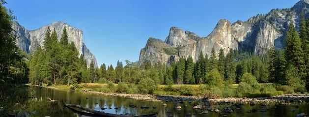 River in Yosemite National Park Wall mural