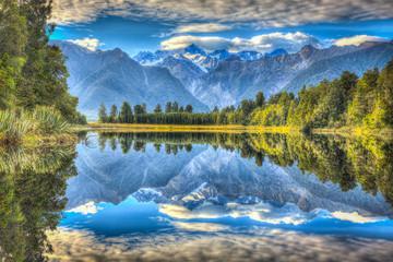 """Mirror Lake"", Lake Matheson, New Zealand"