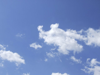 Sky with clouds in Nature